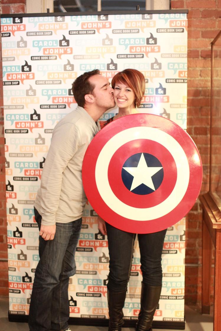 Kate and Jonathan Beveridge