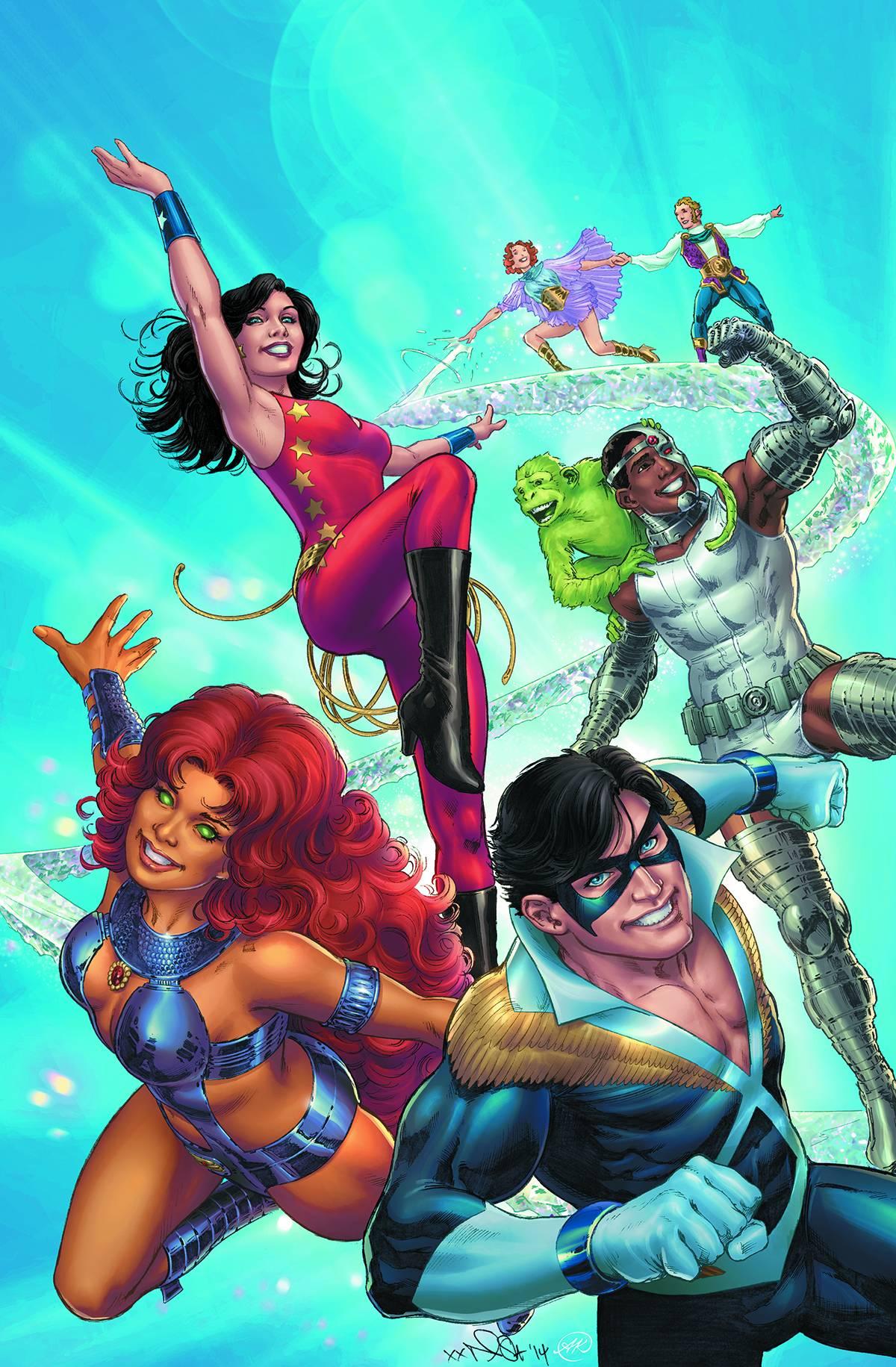 Convergence New Teen Titans #1