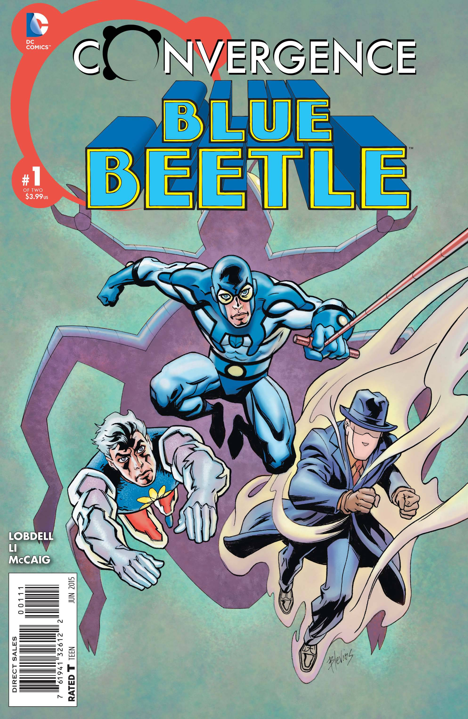 Covergence Blue Beetle #1
