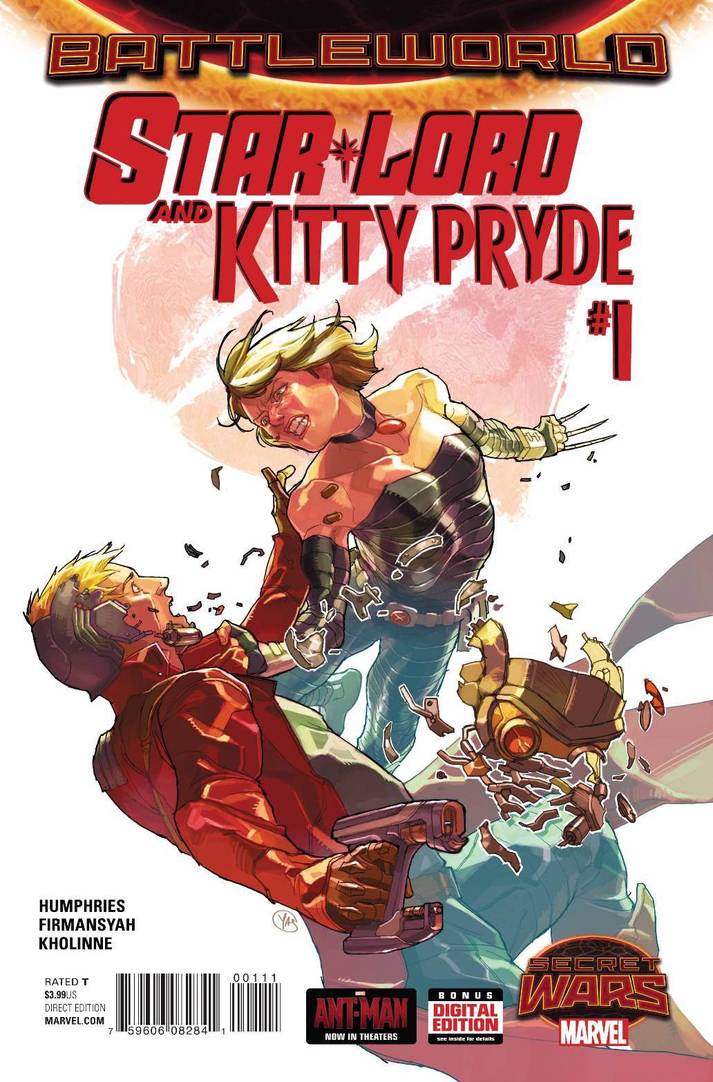 Starlord and Kitty Pryde #1