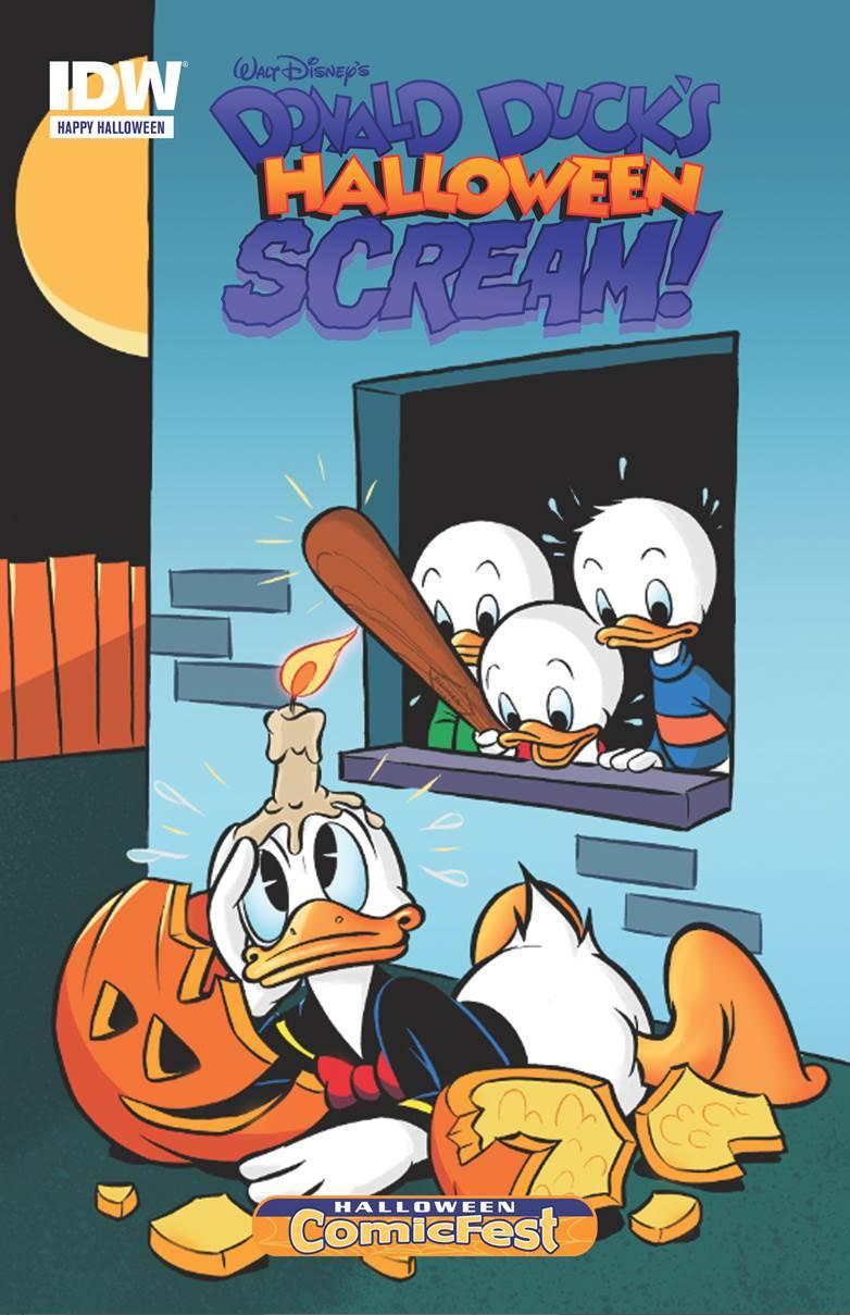 Donald Duck Halloween Scream