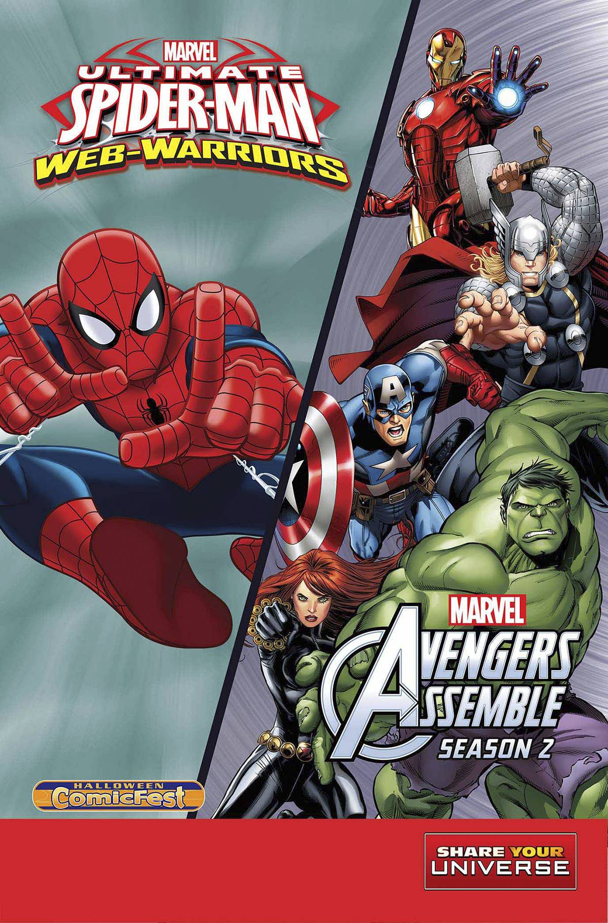 Ultimate Spider-Man and The Avengers