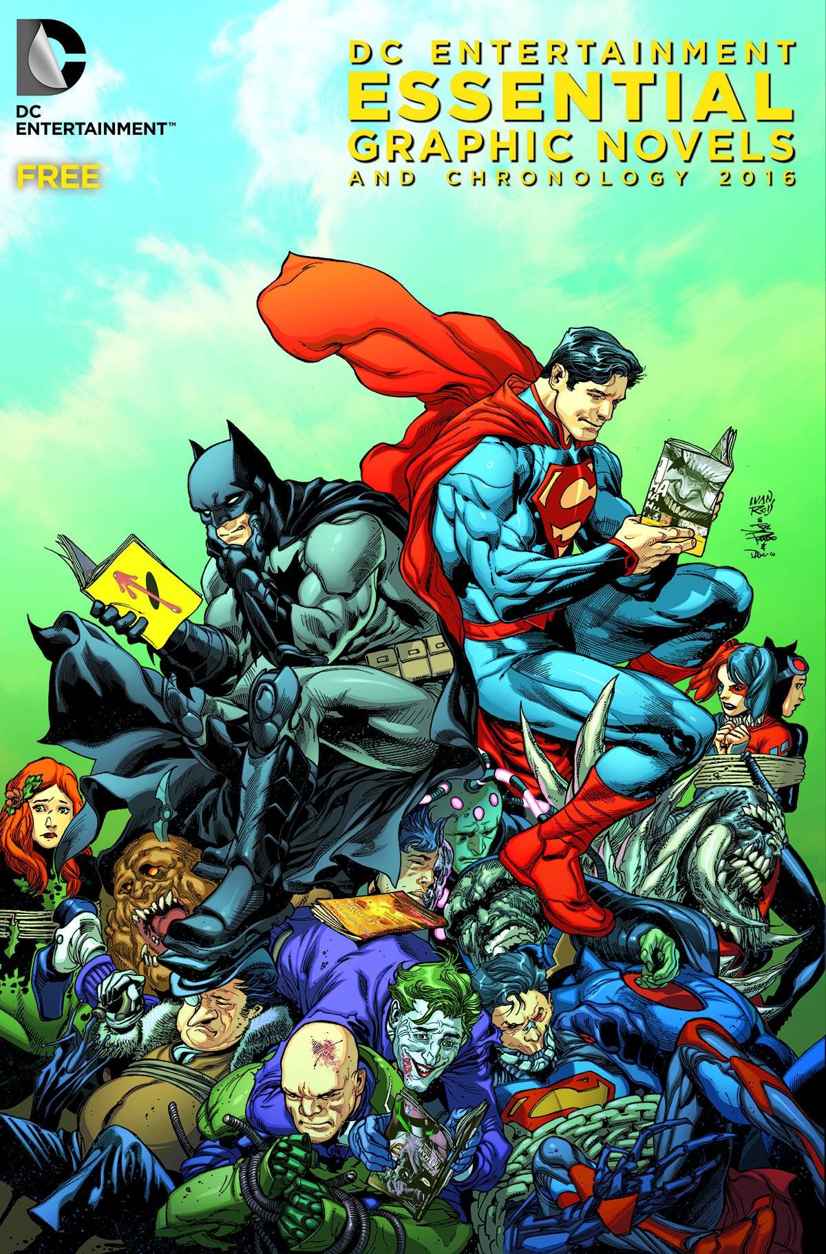 DC Entertainment Chronology Guide
