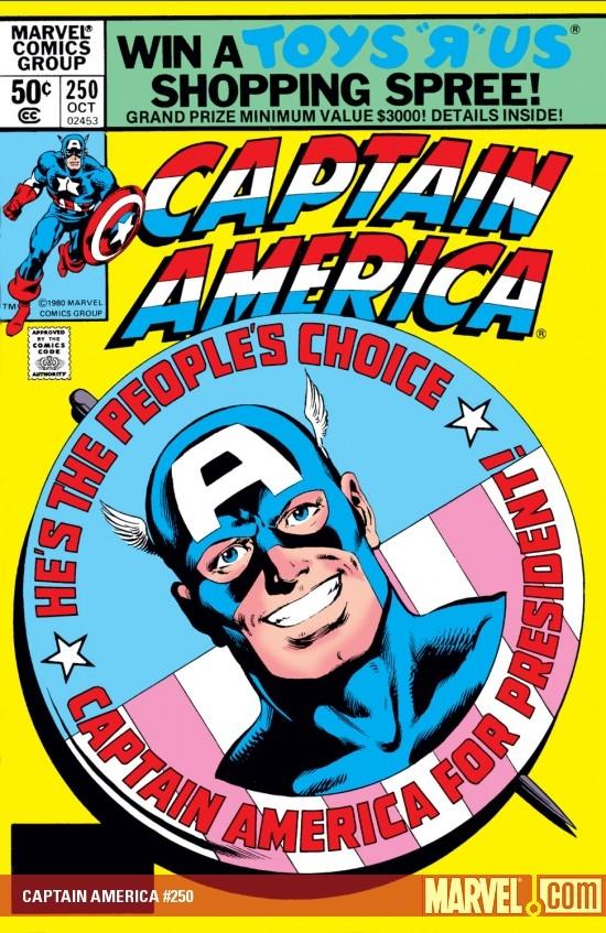 Captain America 250