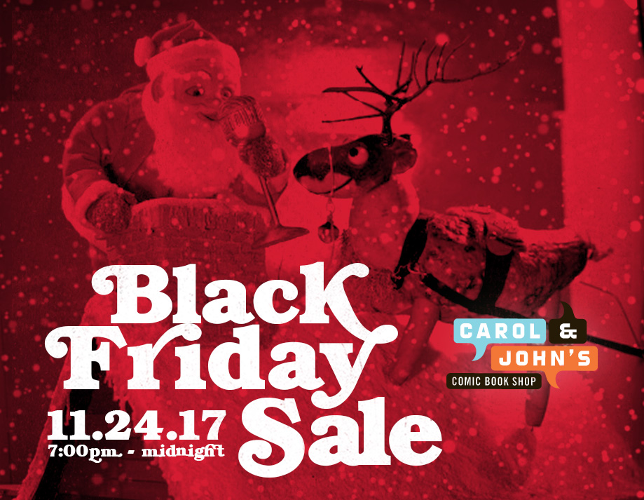 carol and john s comic book shop black friday and small business