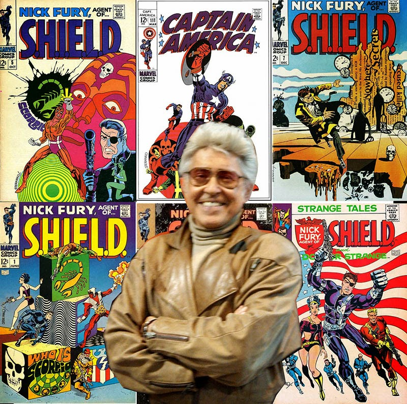 Free Comic Book Day Logo: Carol And John's Comic Book Shop · Jim Steranko At FCBD At
